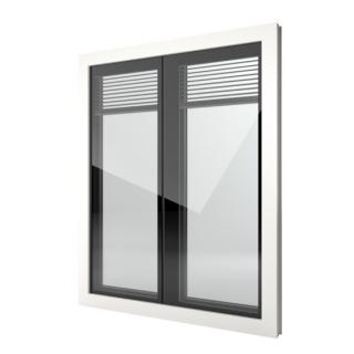 Finestra in PVC Finstral FIN Window Nova line Twin