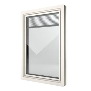 Finestra in PVC Finstral FIN Window Slim line Twin
