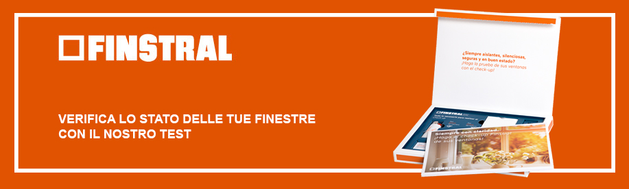 Kit gratuito check-up finestre Finstral
