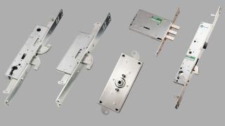 Serrature per serramenti in alluminio e ferro scorrevoli cancelli e grate